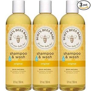 Burt's Bees Baby Shampoo & Wash, Original Tear
