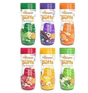 Happy Baby Organic Superfood Puffs Assortment Variety Pack