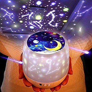 Luckkid Multifunctional Universe Night Light