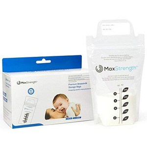 Max Strength Pro Breastmilk Storage Bags (250 ml each)
