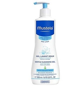 Mustela Gentle Cleansing Gel, Baby Hair & Body Wash
