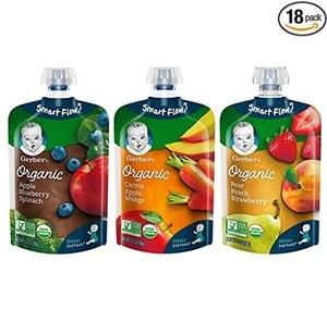 Gerber Organic 2nd Foods Baby Food