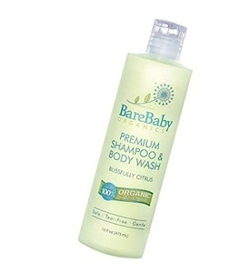 Organic Baby Shampoo and Body Wash