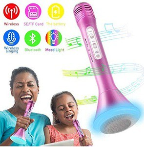 Tencoz Wireless Karaoke Microphone