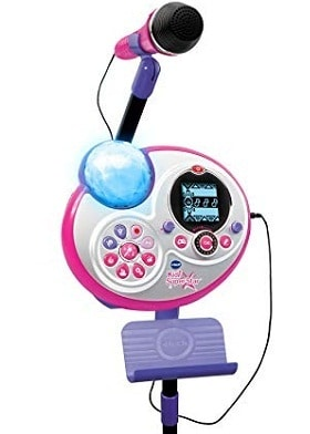 VTechKidi Super Star Karaoke System with Mic Stand