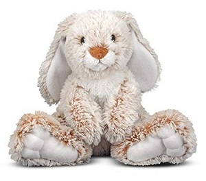 Melissa & Doug Borrow Bunny Rabbit Stuffed Animal