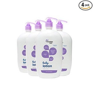 Mountain Falls Hypoallergenic Baby Lotion, Night-Time, Compare to Johnson's, 27 Fluid Ounce (Pack of 4)