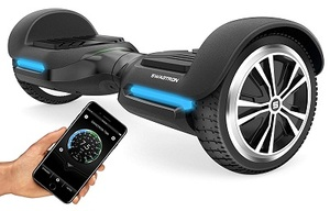 Swagtron T580 App-Enabled Bluetooth Hoverboard with Speaker Smart Self-Balancing Wheel