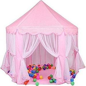 e-joy Kids Indoor/Outdoor Play Fairy Princess Castle Tent