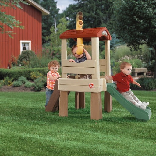 outdoor playset for toddlers