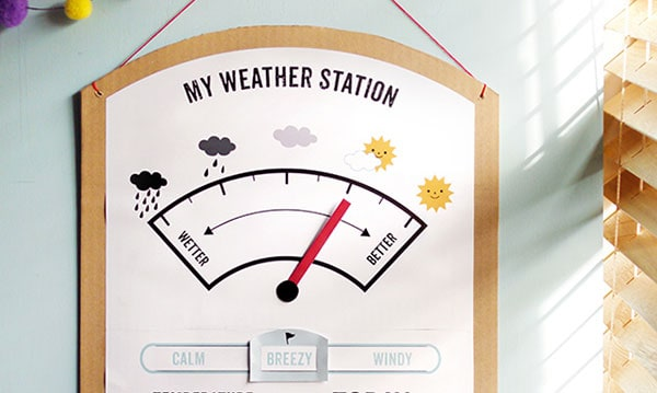 kids weather station